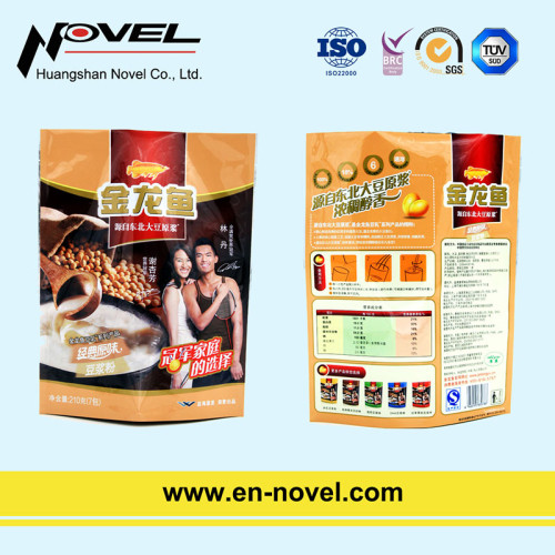 Customized Plastic Stand Up Pouch/Side Gusset Pouch for Milk Powder Packaging