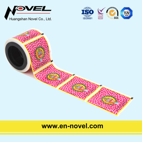 Plastic Color-Printing Candy Twist Film for Candy/Lollipop Wrapper
