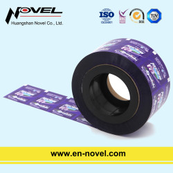 Plastic Color-Printing Sachet Roll Film for Candy Packaging