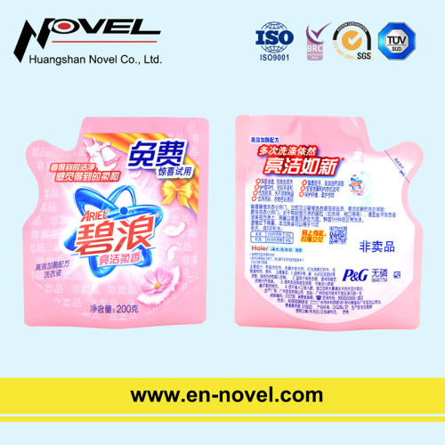 Pot-Shaped Stand Up Bag/Pouch for Laundry Detergent Sachet/Gift Pack