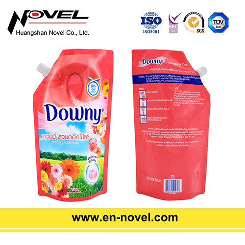Stand Up Bag/Pouch with Spout for Laundry Detergent Packaging