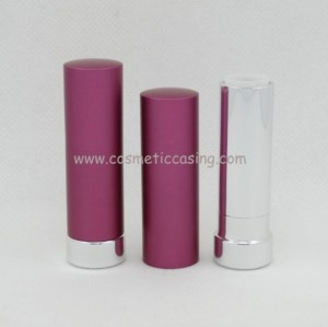 Pink lipstick tube Aluminium lipstick containers cosmetics type lipstick case