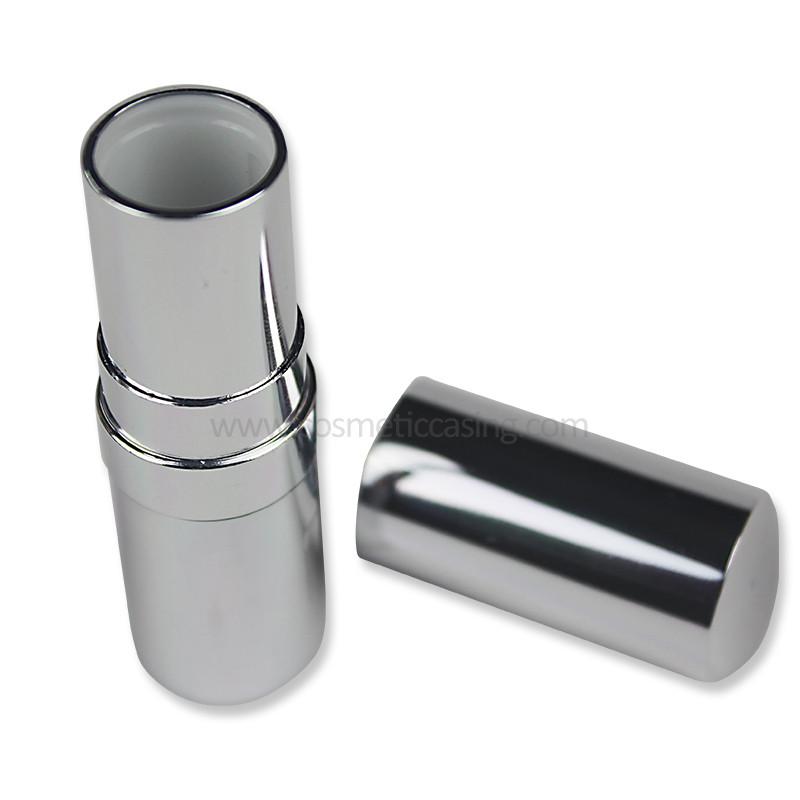 silver lipstick tube