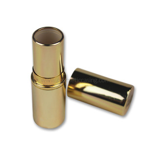 Golden lipstick tube Empty lipstick container for Cosmetics