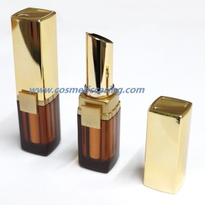 Fashion lipstick tube Empty lipstick container for Cosmetics packaging