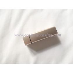 Square gold lipstick tube empty lipstick container lipstick case for cosmetics