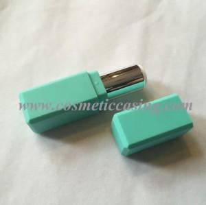 Square shape Plastic lipstick tube empty lipstick container lipstick case for cosmetics