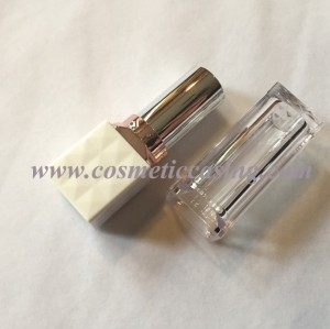 Luxury Square shape Plastic lipstick tube empty lipstick container lipstick case for cosmetics packaging