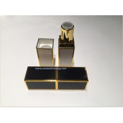New Fashion Square shape Plastic Lipstick tube empty lipstick container lipstick case for cosmetics
