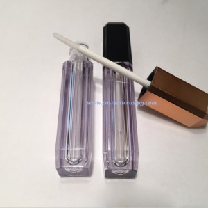 Plastic Lip gloss tube empty lip gloss containe for cosmetics