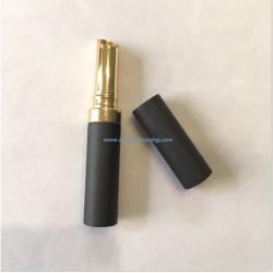 Black aluminium lipstick tube empty lipstick container lipstick case for cosmetics
