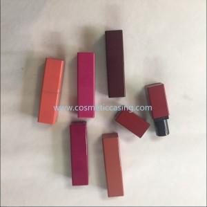 Square shape shape lipstick tube empty lipstick container lipstick case for cosmetics