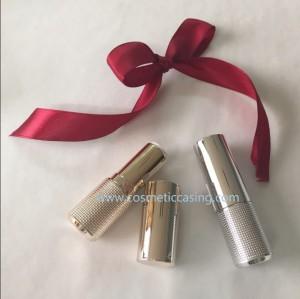 Golden Silver Lipstick tube empty lipstick container lipstick case for cosmetics