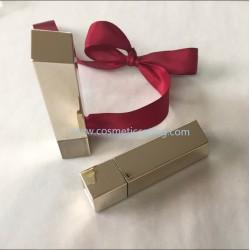 Luxury Golden Lipstick tube empty lipstick container lipstick case for cosmetics
