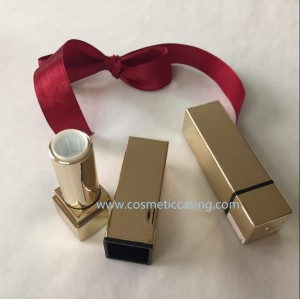 Luxury Gold Lipstick tube empty lipstick container lipstick case for cosmetics