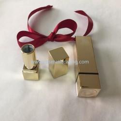 Luxury Gold Mini Lipstick tube empty lipstick container lipstick case for cosmetics