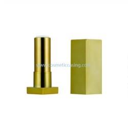 Square Lipstick tube empty lipstick container gold lipstick case for cosmetics