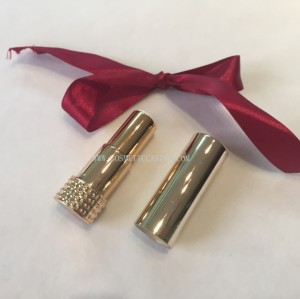Gold Lipstick tube empty lipstick container lipstick case for cosmetics