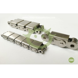 Stainless steel chains with rubber blocks