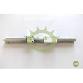 Linear motion slide shaft unit