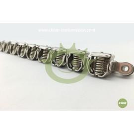 Film clamp chain