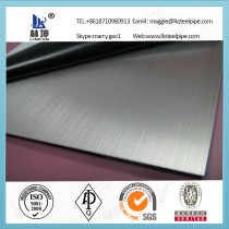 201/304/316/316L/317 brushed stainless steel plate