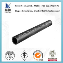 schedule 80 schedule 40 sch 120 carbon steel seamless pipe astm a53