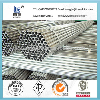 High Quality hot dipped galvanized steel pipe, corrugated galvanized culvert pipe