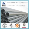 High quality erw welded galvanized pipe, galvanized erw steel pipe for building greenhouse