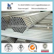 Best Quality Hot Selling Bs En10296 Standard Asme Galvanized Scaffolding Pipe, Asme Galvanized Scaffolding Pipe