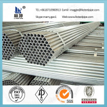 Supplying astm a53 schedule 40 galvanized welded tube