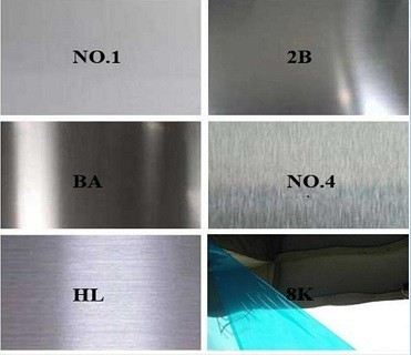 stainless steel plate surface treatment