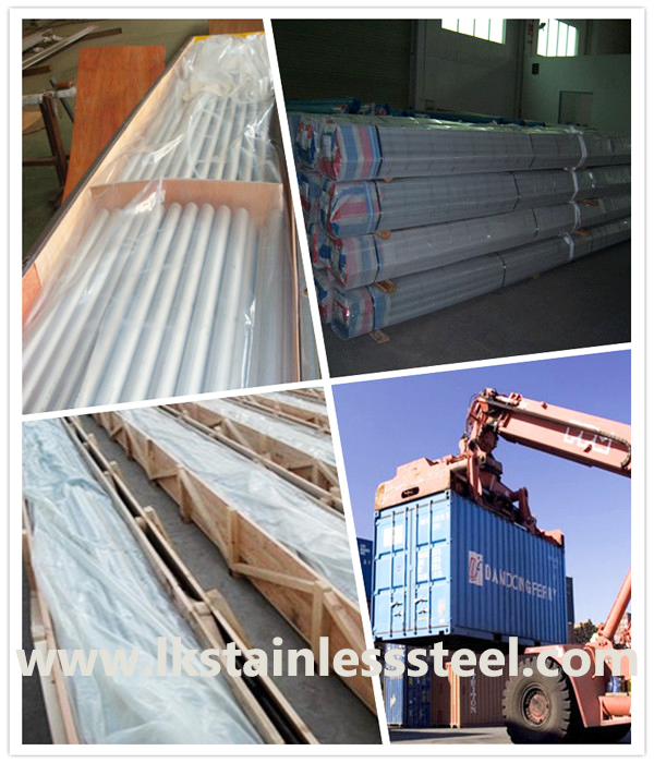 LK Stainless Steel pipe packing and delivery