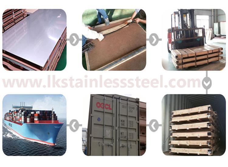 LK Stainless Steel 320 plate