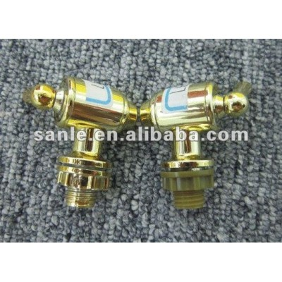 Tap with gold-plating for sales