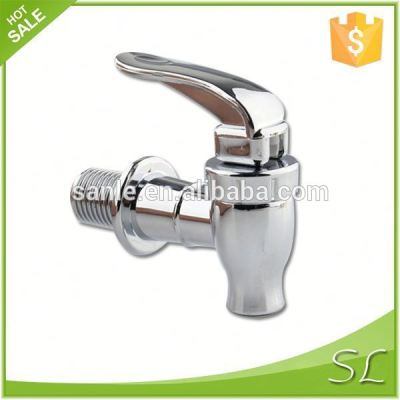 Plastic faucets with color