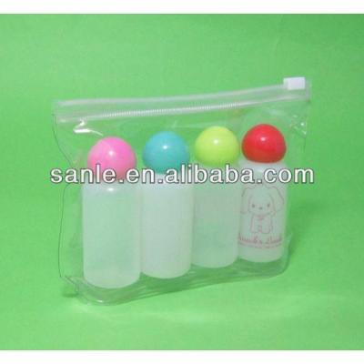 Empty plastic travel kits