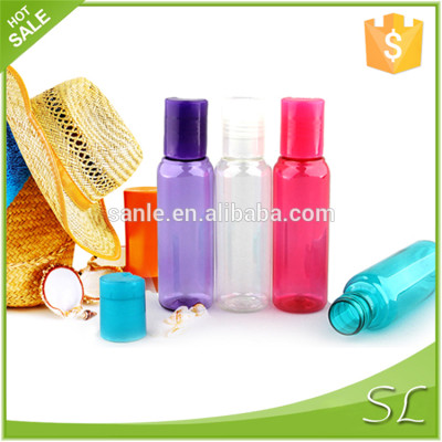 Cosmetic travel set with mini bottle and jar for sale