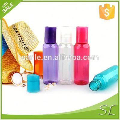 Transparent 100ML PET Lotion Travel Bottle Set