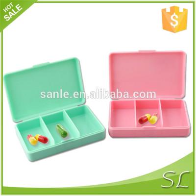 Empty pill case