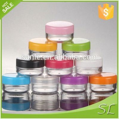 Non-disposable travel cosmetic jar wholsales
