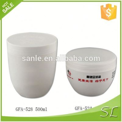 250ml Plastic wide mouth Jar with screw cap