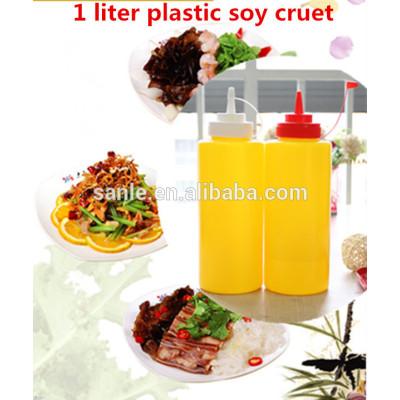 1 Liter Plastic Soy Cruet