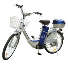 200~250W High Quality Brushless Motor Electric Bike with Basket (EB-003)