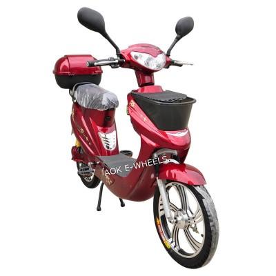 Most Popular 250W/350W/500W Motor Electric Bike with Rear Box (EB-008)