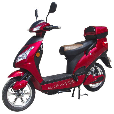 250W/350W/500W Motor Moped with Mirrior and Rear Box (ES-009)