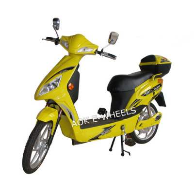 250W/350W/500W Motor Electric Bike, Electric Moped with Mirrior and Rear Box (ES-012)