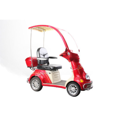 High Quality 500W Mobility Scooter with Weather Cover and Rear Box (ES-029A)