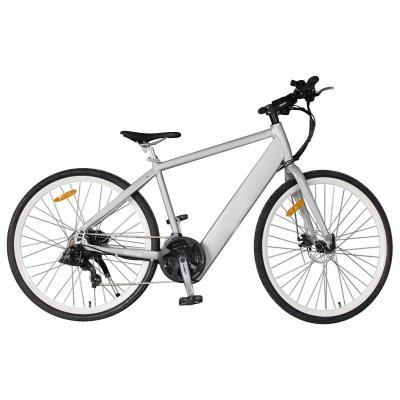 Aluminium Alloy Lithium Battery Mountain Electric Bike with Shimano, 21-Speed (TDE-035D)