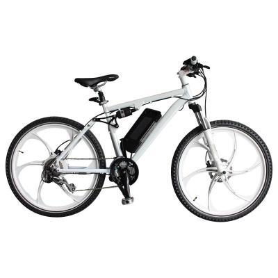 New Design Aluminium Alloy Lithium Battery Mountain Electric Bike (TDE-035F)
